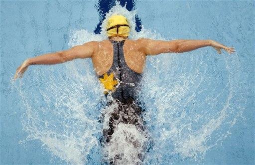 Плавание стилем баттерфляй