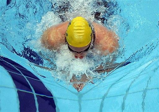 Плавание стилем брасс