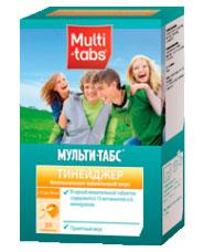 Витамины Мульти-табс тинейджер